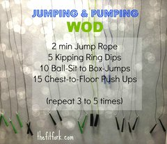 Jumping &amp; Pumping Workout