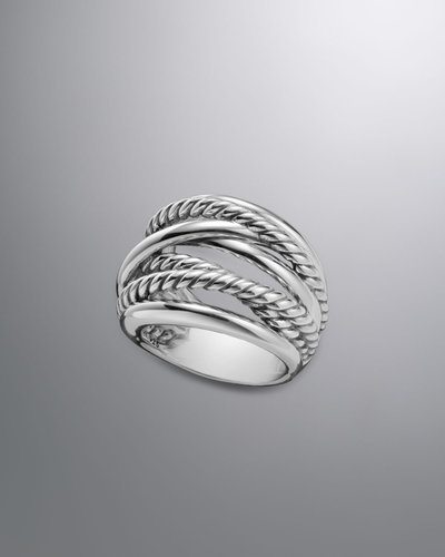 David Yurman The Crossover Collection Ring, 18.4mm