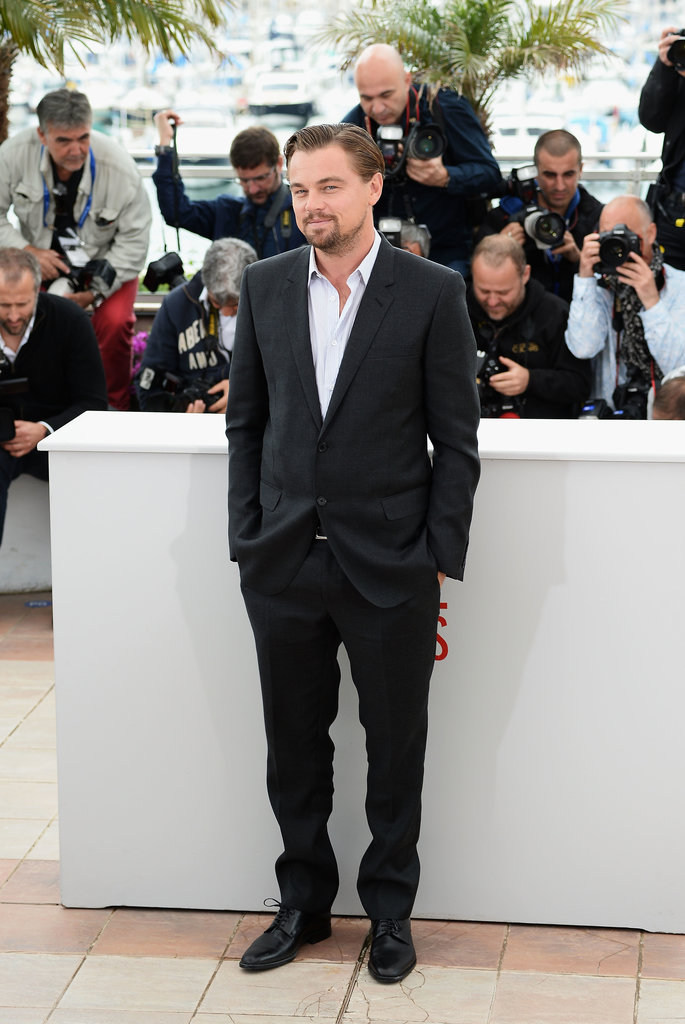 Leonardo DiCaprio stole the show at his photocall for The Great Gatsby in Cannes.