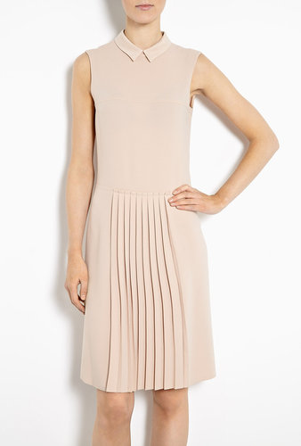 Joseph Casey Drop-waist Pleated Dress