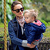 Natalie Portman Takes Son on a Carousel in Paris
