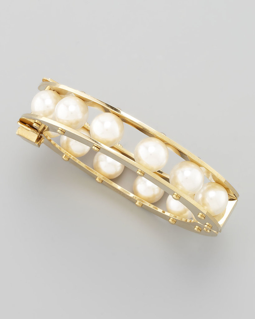 The strand of pearls your grandmother got for a big life event has been updated — this Lele Sadoughi bangle ($250) has the same classic feel with a modern design.