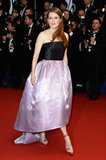 Julianne Moore walked the Cannes Film Festival Opening Ceremony on Wednesday.