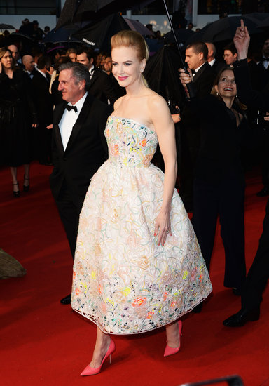 Nicole Kidman walked down the red carpet at the Cannes Film Festival.
