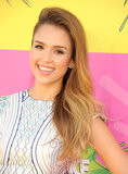 Jessica Alba has most recently been sporting a blonde hue, and we love the colour on her.