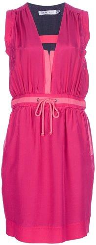 See By Chloé drawstring waist dress