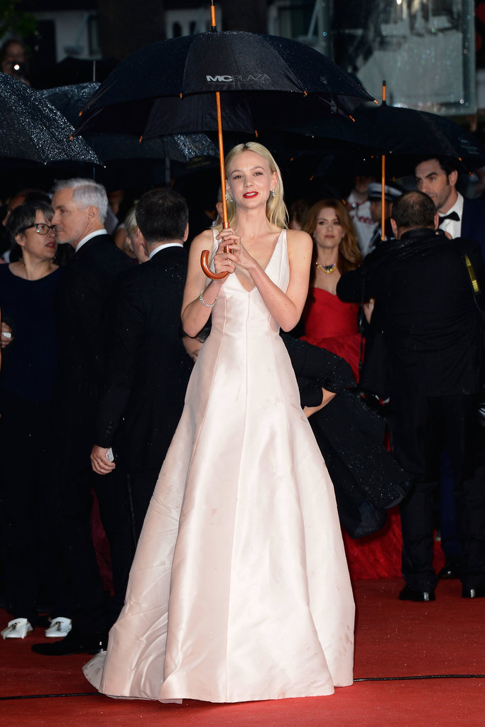 Carey Mulligan in Blush Dior Haute Couture at the 2013 Cannes Film Festival Opening Ceremony