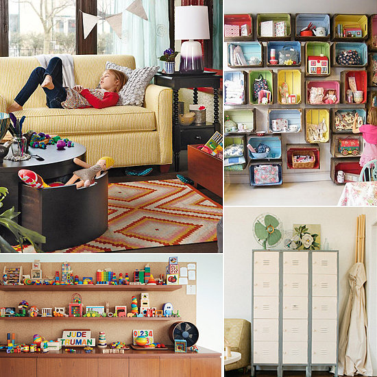 Toy storage ideas for family room Large toy storage ideas