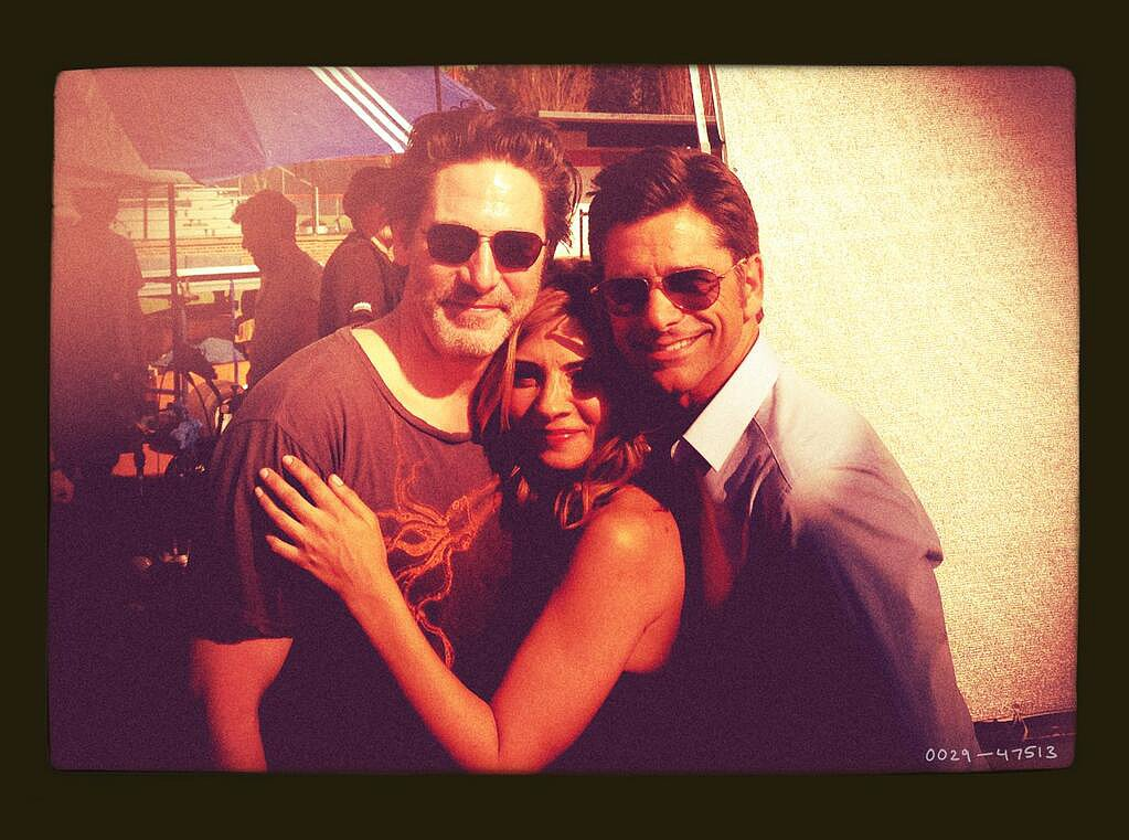 John Stamos shared his appreciation for being involved with his Necessary Roughness costars Callie Thorne and Scott Cohen. Source: Twitter user JohnStamos