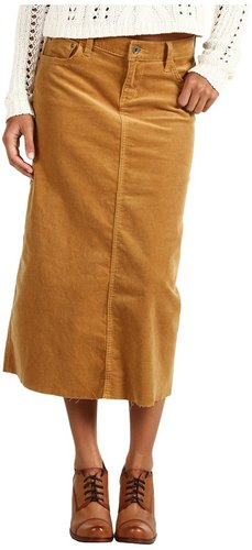 !iT Denim - Midi Skirt Corduroy (VS Cognac) - Apparel