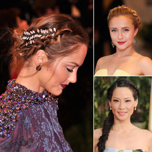 Whether you're a guest, bridesmaid, or even the bride, weddings are a perfect time to add a braid into your dressed-up style. Check out POPSUGAR Beauty to see how the following stars plaited their coifs to perfection.