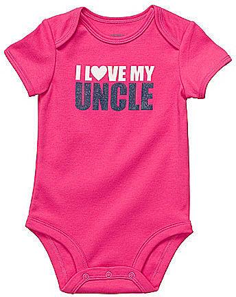 Carter ́s Infant I Love My Uncle Bodysuit