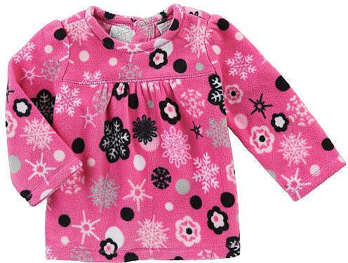Babies R Us Koala Baby Girls' Long Sleeve Fleece Knit Top