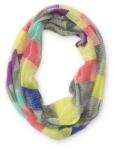Multi-Colored Infinity Scarf