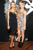 Harley Viera-Newton and Leigh Lezark at the JW Anderson for Versus launch party. Source: Billy Farrell/BFAnyc.com