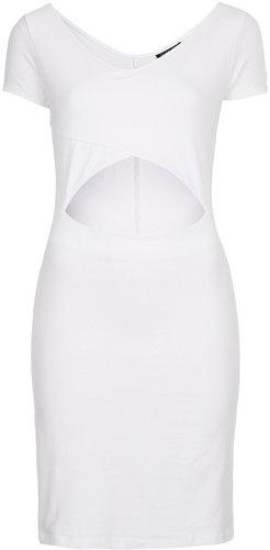 Crop Top Mini Bodycon Dress