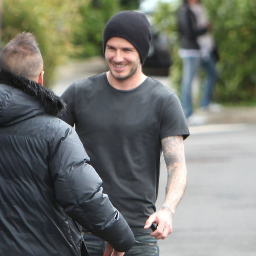David Beckham Leaving Practice After Retirement Announcement