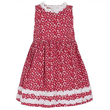 Hucklebones's red printed dress ($138) screams Spring graduations and garden parties!