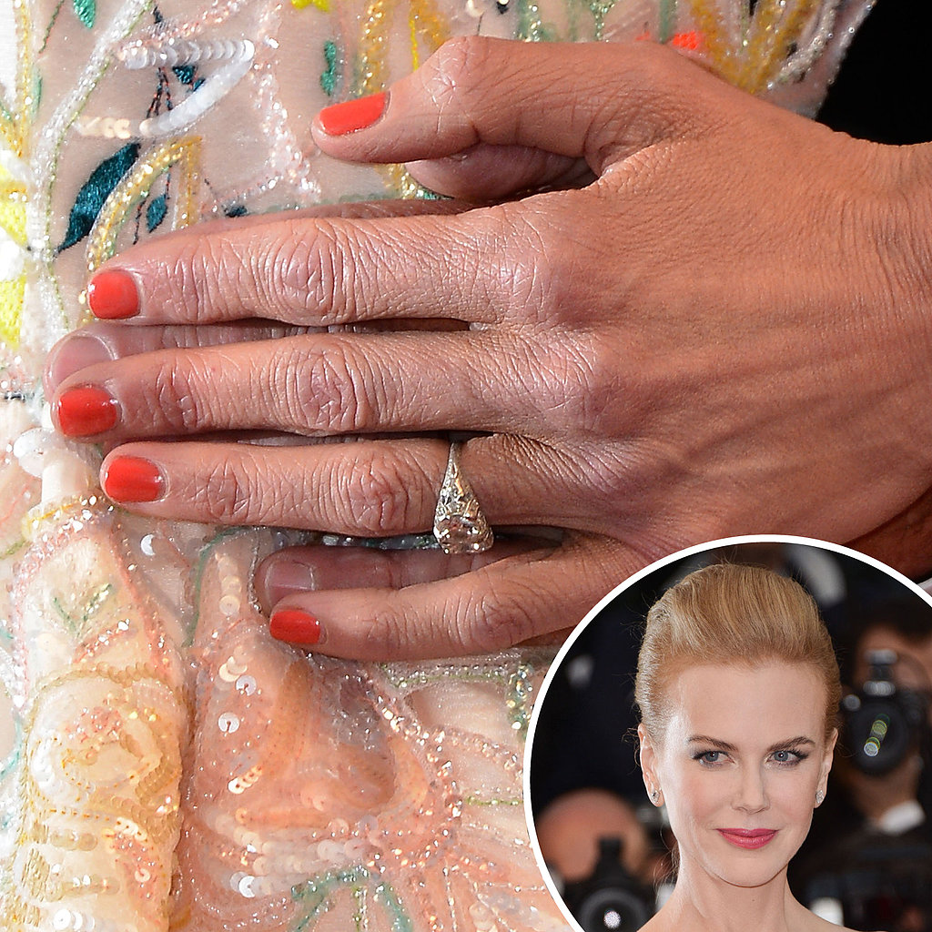 Juror Nicole Kidman picked up the orange hue from her multicoloured gown at the premiere for The Great Gatsby.