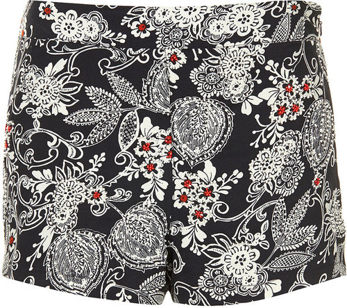 Oriental Bead Shorts