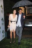 Cash Warren shielded Jessica Alba from the LA rain at a pre-Oscar party in March 2010.