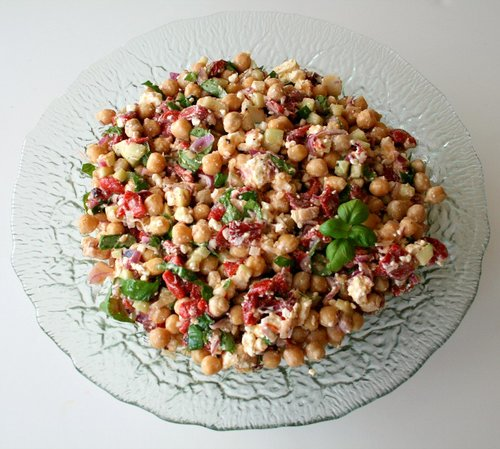 Ten-Minute Chickpea Salad