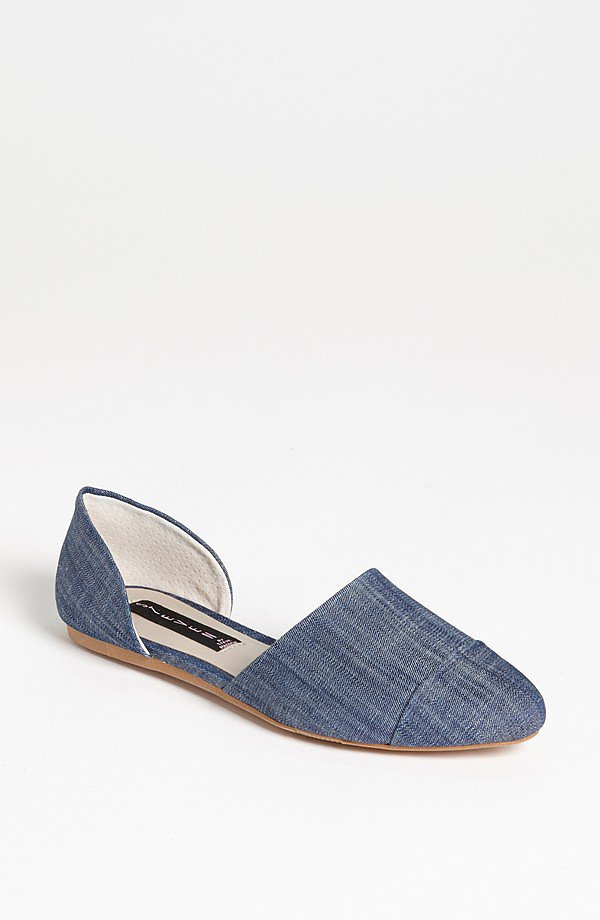 Think of these Steven by Steve Madden Sawyer flats ($89) as a piece of Summer denim you can wear with just about anything. We recommend a flirty sundress for your weekends off duty.