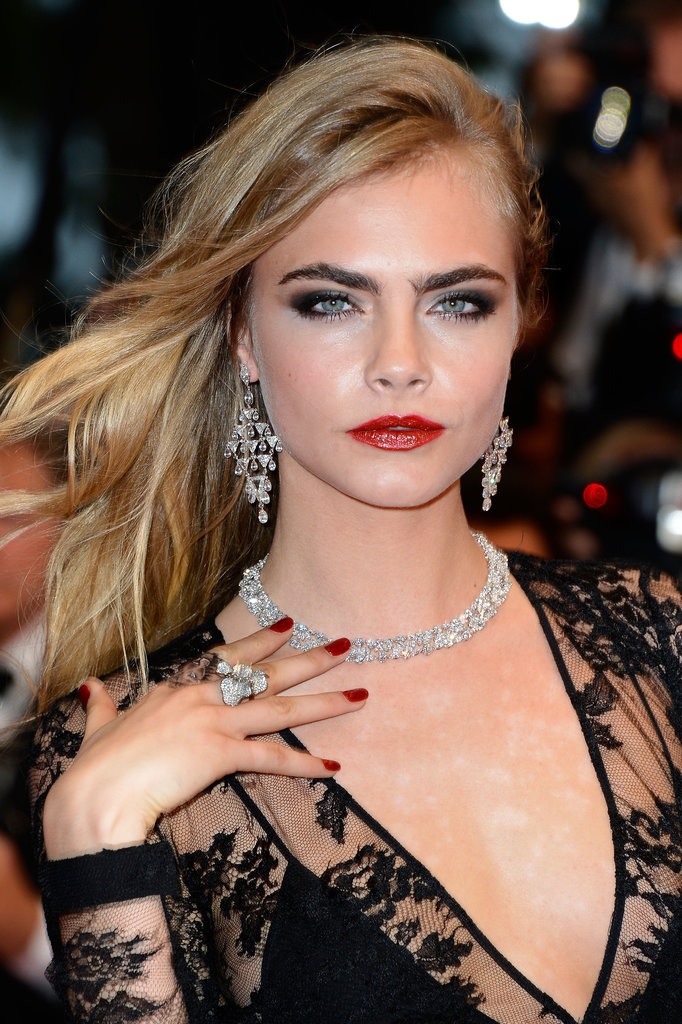 Cara Delevingne smouldered at The Great Gatsby premiere. Wow!