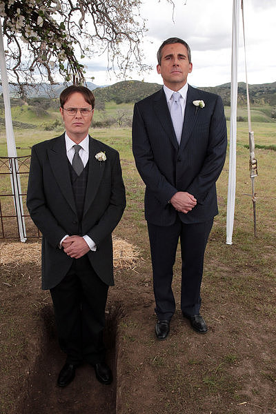 "It's only fitting that Michael is Dwight's ""Best Mensch"" after all they've been through together, right?"