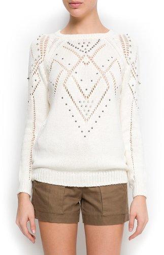 Studded sweater