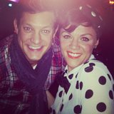 Rob Mills watched his friend and fellow Australian Idol alum Em Rusciano perform. Source: Instagram user robmillsymills