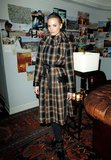Jaime King is pretty in plaid.