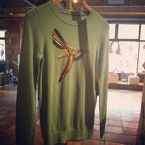 We're sure these sweaters from Boden will take flight this Fall.