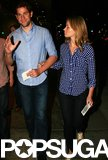 John Krasinski and his wife, Emily Blunt, attended a screening of the finale of The Office.