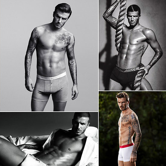 David Beckham announced his retirement this week! So naturally, we gathered up our favorite pictures of him in his underwear.