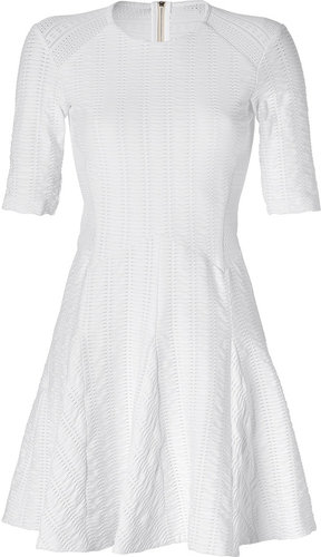 Rag & Bone White Niki Flare Dress