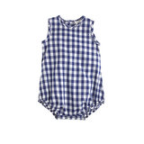 """Gingham is so """"in"""" for Summer, and this one-piece ($48) would work for either a baby boy or girl."""
