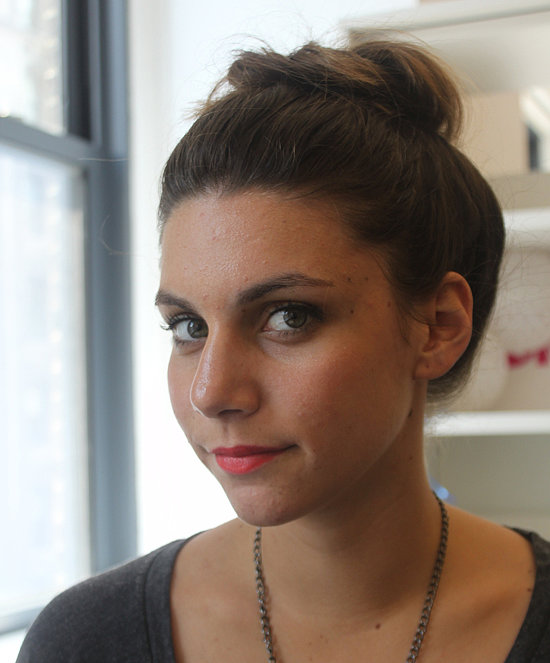 Keep hair off your neck and out of your face this season with this easy topknot tutorial.