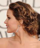 Thinking of wearing braids at your wedding? Then you might want to consider Jennifer Lawrence's twisted style because it's the top pick among our Pinterest followers.