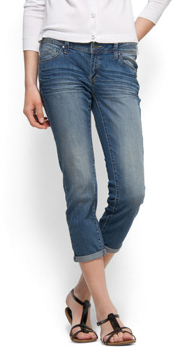 Capri pocket jeans