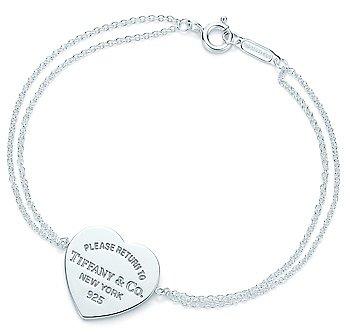 Return to TiffanyTM Heart Tag Bracelet