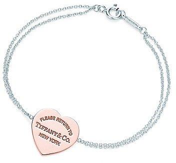 Return to TiffanyTM Heart Bracelet