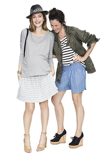 Hatch Daytime Skirt and Long-Sleeve Tee