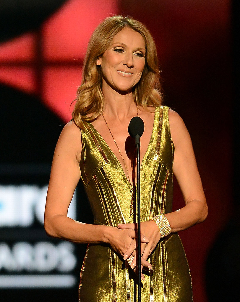 Celine Dion took to the Billboard Music Awards stage.