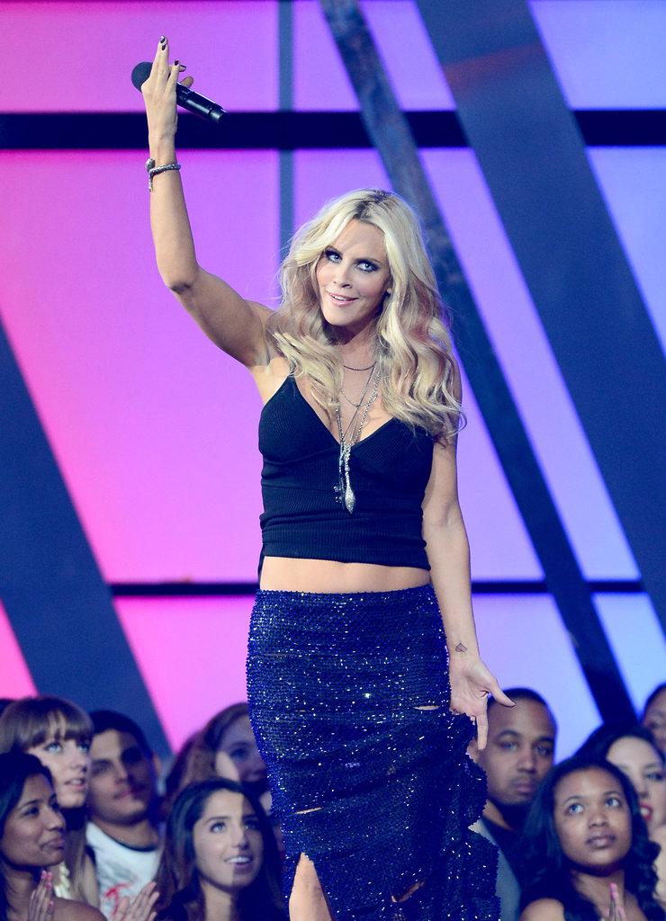 Jenny McCarthy goofed around during the Billboard Music Awards.