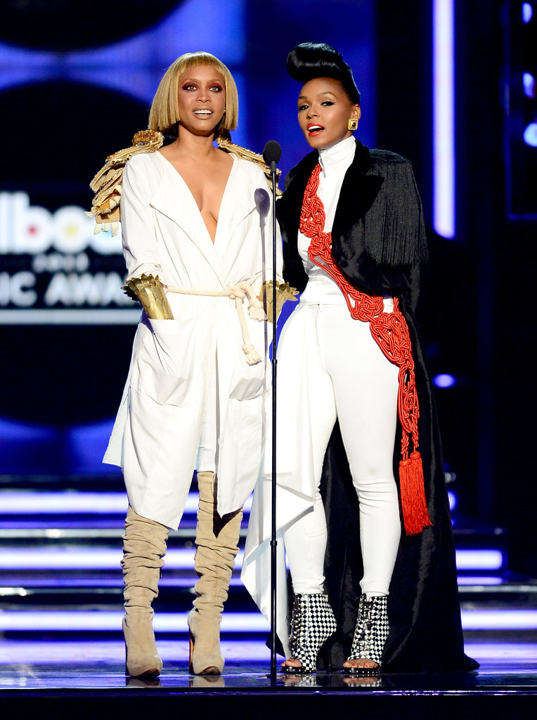 Erykah Badu and Janelle Monae made appearances at the Billboard Music Awards.