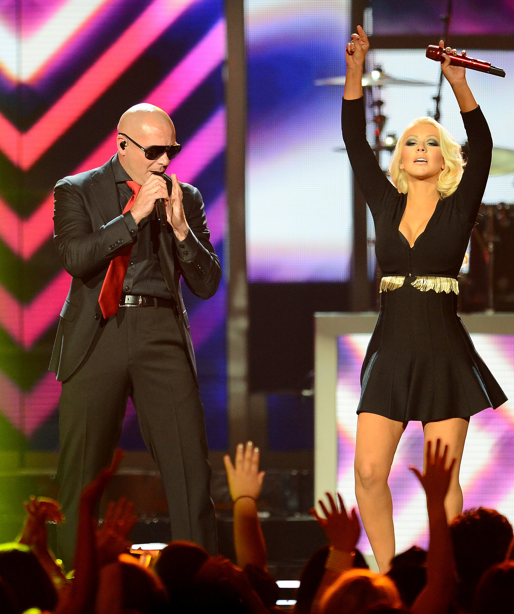 Pitbull and Christi