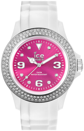 ICE Watch Color Dial Crystal Bezel Watch