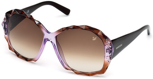 Charlie Lilac Brown Sunglasses