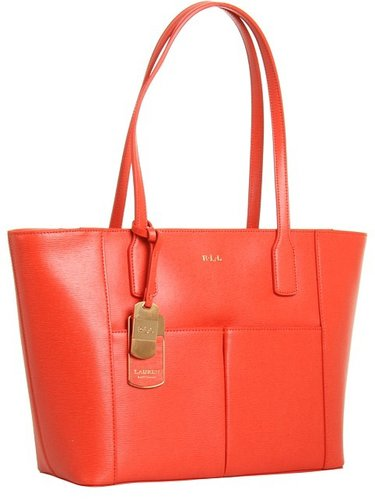 LAUREN Ralph Lauren - Newbury Pocket Shopper (Valencia) - Bags and Luggage